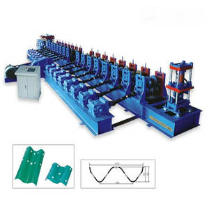 Wholesale Traffic Barrier: Highway Guardrail Roll Forming Machine