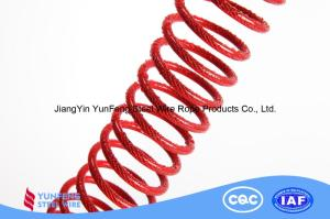 Wholesale black steel wire: 304/316/316L Stainless Steel  Black/Red/Yellow/Blue/White PU Coated Steel Wire Rope