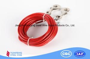 Wholesale nylon rope: High Elasticity Copper Plating Wear-resistant Nylon Coated Steel Wire Rope