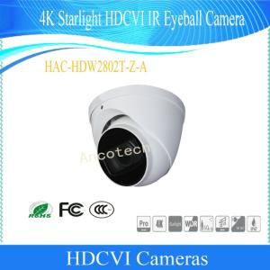 Wholesale starlight: Dahua 4K Starlight Hdcvi IR Eyeball Waterproof Camera (HAC-HDW2802T-Z-A/HAC-HDW2802T-Z-A-DP)
