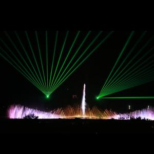 Wholesale decoration: Large Music Dancing Laser Water Screen Fountain for Pool Decoration
