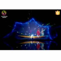 Lake Water Curtain Projection Laser Musical Dancing Fountain in India