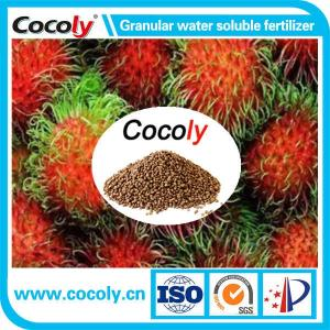 Wholesale disease resistant fertilizer: ISO COCOLY Fertilizer with 100% Water-soluble