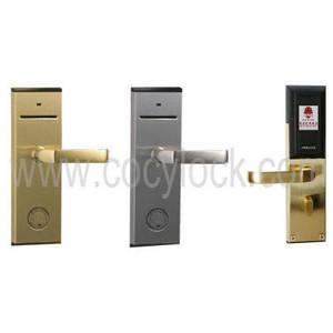 Wholesale hotel lock: Hotel SLE4442 Smart Card Door Lock
