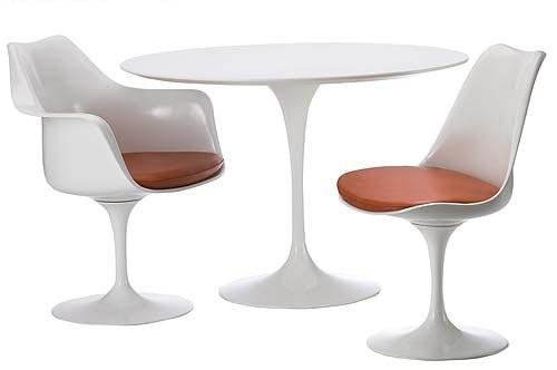 Tulip Table Fiberglass Dining Table Chair Table Set Dining Room