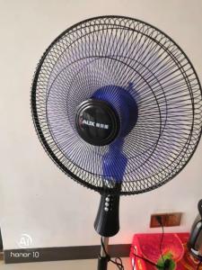 Wholesale office fan: Oaks FS1603 Home Dormitory, Office Fan, Floor Fan ,Student VErtical Fan, Five Leaf Fan.