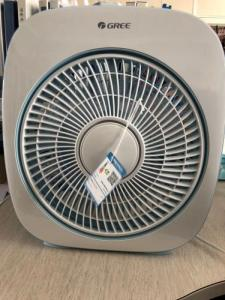 Wholesale box fan: Gree Fan Hongyun Fan,Small Fan,Desk Home Dormitory Box Fan,Big Wind Fan,Desk Fan