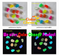 Luminous Pebbles/ Photoluminescent Stone for Garden Pave & Fish Tank Decoration