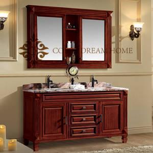 Wholesale cabinet: Thailand Oak Wooden Customized New Arrival Modern Bathroom Cabinet
