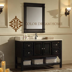Wholesale classic furnitures: Bathroom Furniture Classic Rustic Wooden Drawer Bathroom Vanity Cabinets