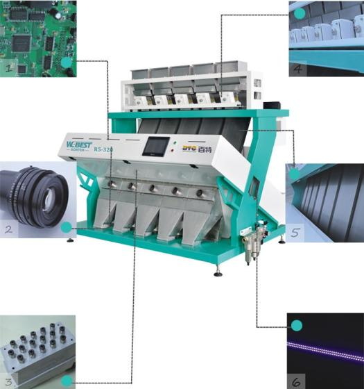 Best Price High Quality Steady Performance Barley Wheat Cereal Grain CCD Color Sorting Machine