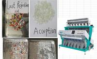 High Efficient Advanced CCD RGB Technology Plastic Color Sorting Machine Made in China Good Quality 2