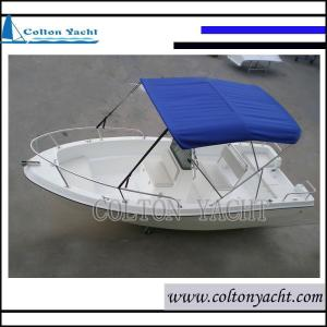 Wholesale fishing boat: 500cm Fiberglass Fishing Boat with Competitive Prices
