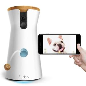 Wholesale 2 way: Furbo Dog Camera - Treat Tossing Full HD Wifi PET Camera and 2-Way Audio Designed for Dogs - Compati