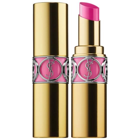 Sell Authentic YSL Rouge Volupte Shine Oil-In-Stick Lipstick 49 Rose Saint