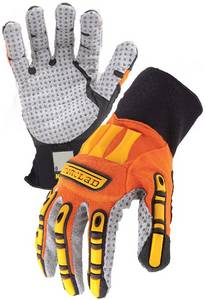 Wholesale grey palm glove: Ironclad Oil and Gass Industry Safety Gloves-grey Palm