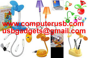 Wholesale portable foot massager: USB Fan USB Light