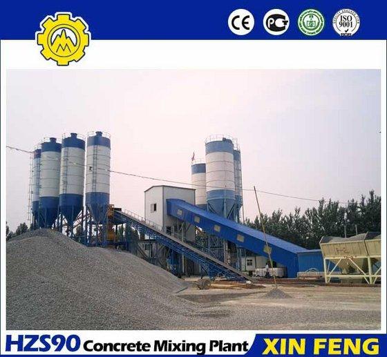 90m3/H Concrete Batching Plant
