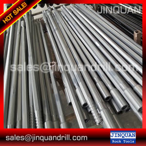 Wholesale drill drifters: R32 T38 T45 T51 Extension Rod Drifter Rod MF Rods for Rock Drilling Equipment