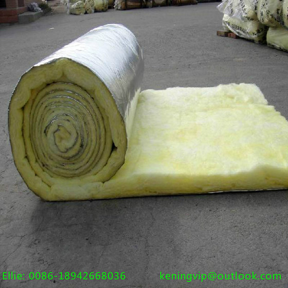 Glass Wool Roll with One Side Aluminum Foil for Oven Insulation