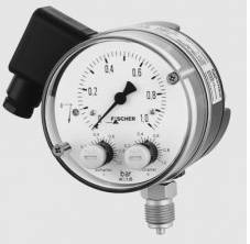 Wholesale stainless steel sanitary pipe: Fischer Contact Pressure Gauge