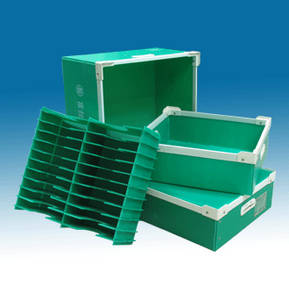 Wholesale metal safe box: Coroplast Corrugated Plastic Package Box