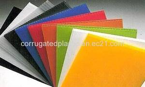 Wholesale polypropylene: Polypropylene Corrugated Plastic Board