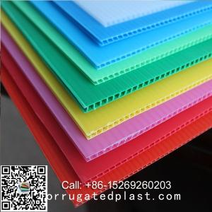 Wholesale Plastic Sheets: Factory 2-12mm Custom White/Yellow/Blue/Black Corflute PP Hollow Board/Corrugated Plastic Sheet