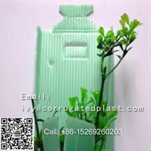 Wholesale Plastic Sheets: 2.5mm Corrugated Plastic Tree Guards, Corflute Tree Guards