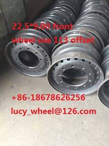 Wholesale Truck Wheel: Front  Wheel Use 22.5*9.00 with 113/120mm Offset