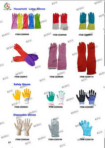 Wholesale Household Gloves: Rubber Gloves