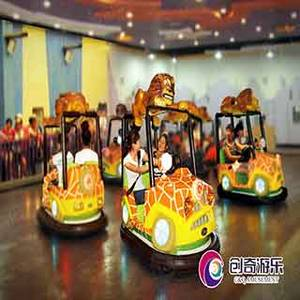 Wholesale children's bumper cars: 2017 New Design Bumper Car----Crazy Jeep