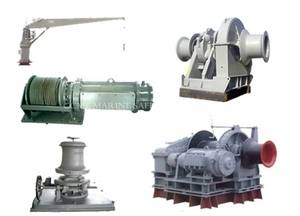 Wholesale marine hardware: Marine Deck Equipment (Mooring Winch / Windlass / Marine Crane / Rudder and Steering Gear)