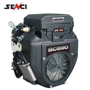 Wholesale 6.5hp engine: Senci V-twin Gasoline Engine Two Cylinder Horizontal Shaft Engine