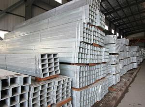 Wholesale curtain manufacturers: Rectangular Galvanized Steel Pipe   MS Rectangular Pipe Manufacturer