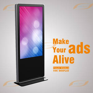 Wholesale lcd advertising player: 55 Inch Indoor Floor Standing LCD Advertising Display/Player