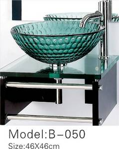 Wholesale wash basin: glass Simple Wash Basin