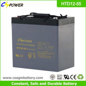 Wholesale vrla: 12v 55ah Deep Cycle Lead Acid VRLA AGM Battery