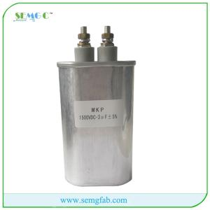 Wholesale Capacitors: High Quality Factor Correction Price List of Film Capacitor 1500VDC 3UF MKP Capacitor