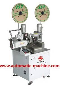 Wholesale Manufacturing & Processing Machinery Parts Agents: Automatic Terminal Crimping Machine Both Ends TATL-RY-01A