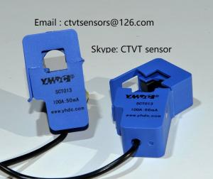 Wholesale Transformers: AC Current Clamp Split Core Current Transformer SCT013 100A/50mA
