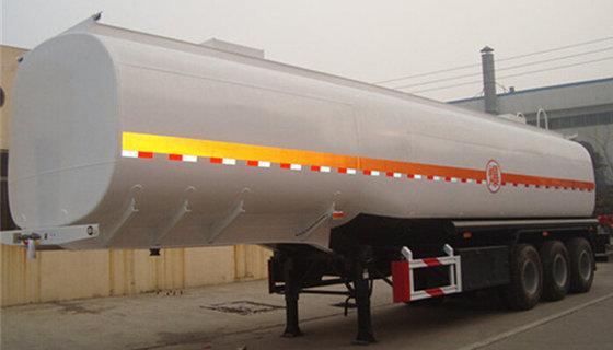 3 Axle 42000l Fuel Trailer Oil Tanker for Sale