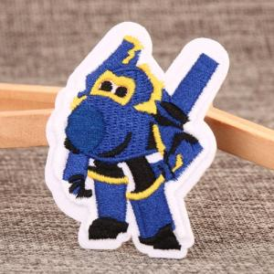 Wholesale Arts & Crafts Stocks: Superwings-Paul Embroidered Patches