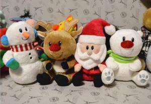 Wholesale toys: Christmas Plush Toys Manufacturer  Custom Mascot Stuffed Toys