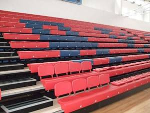 Wholesale retractable seating: Anti-aging Arena Telescopic Seat,Retractable Chair