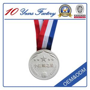 Wholesale stainless keychain: Free Design Custom Zinc Medals with Ribbon