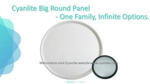 Wholesale panel lights: Shanghai Cyanlite LED Round Panel Light CYNTHIA
