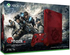 Wholesale game: Xbox One S 2TB Console - Gears of War 4 Limited Edition Bundle