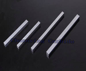 Wholesale tungsten carbdie bar: Grounded or Ungrounded Tungsten Carbide Square Bar