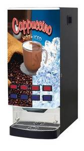 Wholesale beverage dispensers: Hot and Iced Beverage Dispenser Four  Hot and Four Iced  Imix